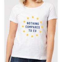 Nothing Compares To EU Women's T-Shirt - White - XXL - White