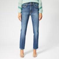 Frame Women's Le Sylvie Slender Straight Heritage Jeans - Halston - W30