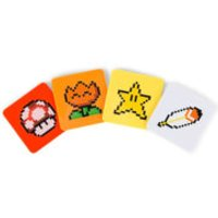 Super Mario Power Up Coasters - Computer Games Gifts