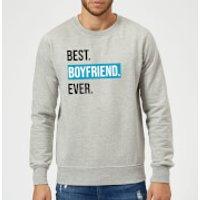 Best Boyfriend Ever Sweatshirt - Grey - XXL - Grey - Boyfriend Gifts