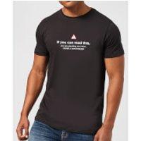 Standing Too Close, I Have A Girlfriend Men's T-Shirt - Black - XXL - Black - Girlfriend Gifts