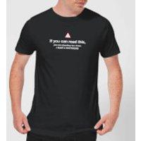 Standing Too Close, I Have A Boyfriend Men's T-Shirt - Black - XXL - Black - Boyfriend Gifts