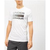 Under Armour Men's Team Issue Wordmark Short Sleeve T-Shirt - White/Black - XXL - White