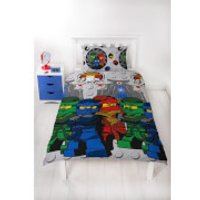 LEGO Ninjago Castle Duvet Set - Single