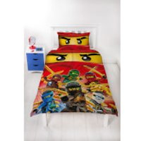 LEGO Ninjago Collective Duvet Set - Single