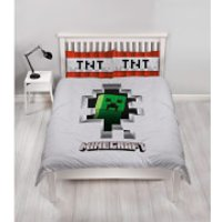 Minecraft Dynamite Duvet Set - Double