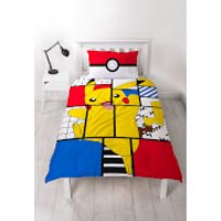 Pokémon Memphis Duvet Set - Single