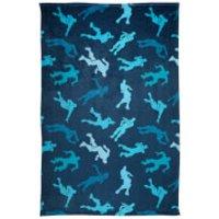 Fortnite Shuffle Flannel Blanket