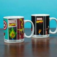 Marvel Comics Powers Heat Change Mug