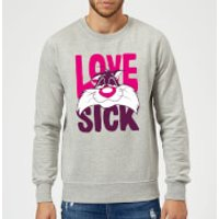 Looney Tunes Love Sick Sylvester Sweatshirt - Grey - 5XL - Grey
