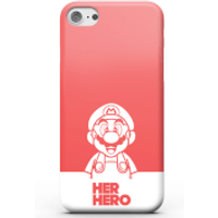 Super Mario Her Hero Phone Case for iPhone and Android - iPhone 6 Plus - Tough Case - Matte
