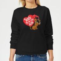 Scooby Doo Ruv Is In The Air Women's Sweatshirt - Black - XXL - Black