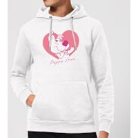 Scooby Doo Puppy Love Hoodie - White - S - White