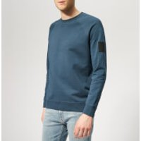 Peak Performance Men's Urban Crew Neck Sweatshirt - Blue Steel - S - Blue