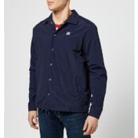 Russell Athletic Men's Shelby Packaway Coaches Jacket - Navy - S - Blue