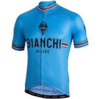 Bianchi Pride Short Sleeve Jersey - L - Blue