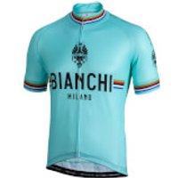 Bianchi Pride Short Sleeve Jersey - S - Celeste