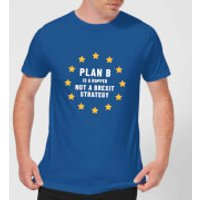 Plan B Is A Rapper Men's T-Shirt - Royal Blue - S - Royal Blue