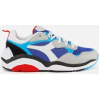 Diadora Men's Whizz Run Trainers - DP Ultramarine/White/Hawaiian OC - UK 10
