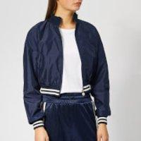 Diadora Women's Barra Track Jacket - Blue Plum - M