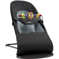 BABYBJÖRN Bouncer Soft and Googly Eyes Bouncer Toy - Black and Grey