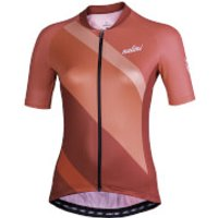 Nalini Chic Women's Short Sleeve Jersey - XXL - Orange