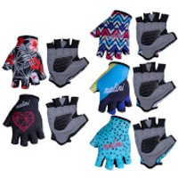 Nalini Cima Lady Mitts - XL - Black/Red