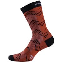 Nalini Fulmine H22 Socks - S/M - Black/Red