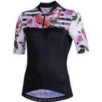 Nalini Moderna Women's Short Sleeve Jersey - XXL - Black/Pink