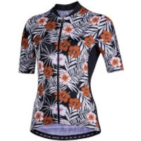 Nalini Moderna Women's Short Sleeve Jersey - XXL - Black/Red