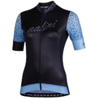 Nalini Stilosa Women's Short Sleeve Jersey - M - Black/Blue