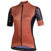Nalini Stilosa Women's Short Sleeve Jersey - M - Black/Orange
