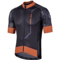 Nalini Velocita Short Sleeve Jersey - L - Black/Red