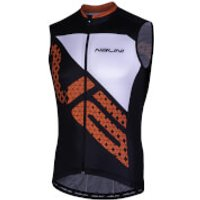Nalini Volata Short Sleeve Jersey - M - Black/Red