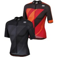 Sportful BodyFit Pro 2.0 X Jersey - S - Red/Orange SDR/Black