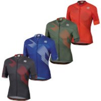 Sportful BodyFit Team 2.0 Faster Jersey - M - Anthracite/Red
