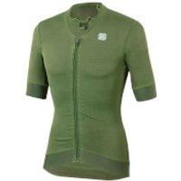Sportful Monocrom Jersey - XL - Dry Green