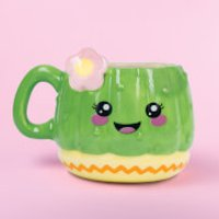 Kawaii Cactus Mug - Kawaii Gifts
