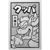 Póster metálico Nintendo Original Hero Rey Demonio