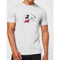 Disney Mickey Cupid Men's T-Shirt - Grey - 4XL - Grey