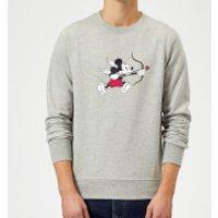 Disney Mickey Cupid Sweatshirt - Grey - XL - Grey