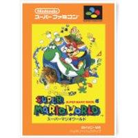 Nintendo Super Mario World Retro Cover Art Print - A3 - Mario Gifts