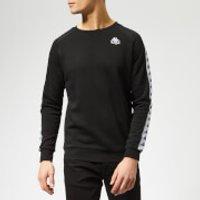 Kappa Men's Banda Arbir Sweatshirt - Black - XL - Black