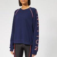 P.E Nation Women's Highline Sweatshirt - Navy - L - Blue