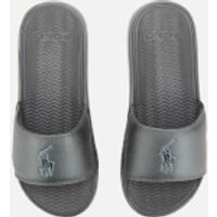 Polo Ralph Lauren Men's Rodwell Slide Sandals - Grey - UK 7 - Grey