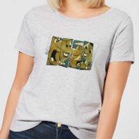 The Flintstones Vintage Women's T-Shirt - Grey - XXL - Grey