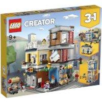 LEGO Creator: Townhouse Pet Shop and Café (31097) - Shop Gifts