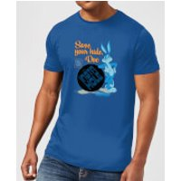 Looney Tunes ACME Insta Hole Men's T-Shirt - Royal Blue - XL - Royal Blue