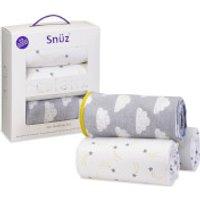 Snuz 3 Piece Bedside Crib Bedding Set - Cloud Nine