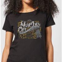 Looney Tunes ACME 'Stache Off Women's T-Shirt - Black - M - Black
